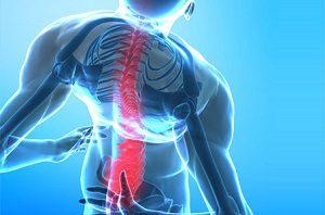Боль в грудине посередине и спине