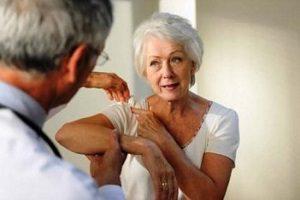 Артроз правого плечевого сустава