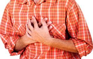 Причина болей в грудине