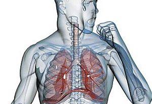 Болит спина в области лопаток при кашле