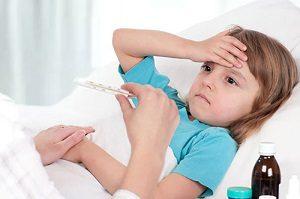 Температура и боль в спине у ребенка