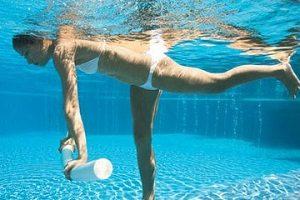 Занятия в бассейне при грыже дисков