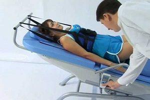 Медицинское вытяжение при протрузии