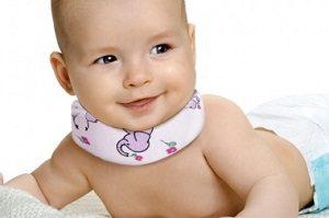 Шейный корсет для младенцев