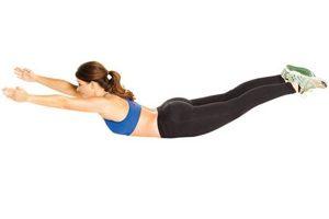 Как накачать разгибатели спины
