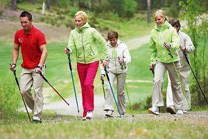 Скандинавская ходьба при коксартрозе