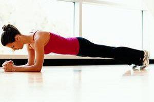Упражнение планка при грыже позвоночника