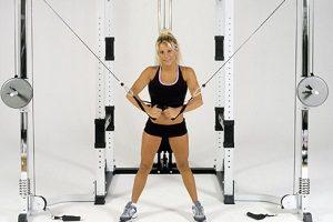 Упражнения на блочном тренажере-кроссовере