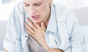 Боль в грудине при пневмонии