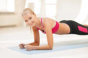 Упражнения на исправление осанки