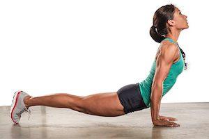Зарядка для укрепления мышц спины