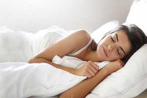 Правильная поза для сна