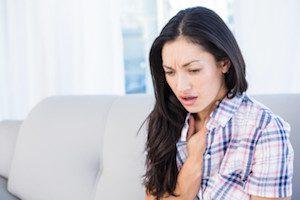 Нарушение дыхания при грудном остеохондрозе