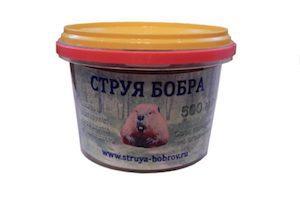 Рецепты из струи бобра
