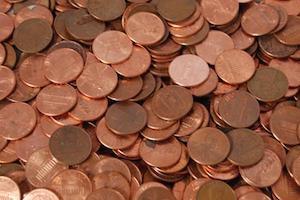 Подготовка медной монеты для лечения пупочной грыжи