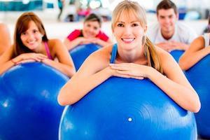 Упражнения на фитболе при грыже позвоночника