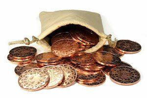 Лечение пупочной грыжи медной монетой