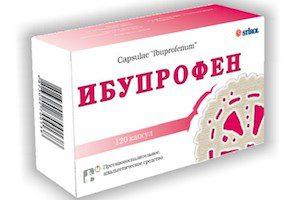 Применение Ибупрофена при остеохондрозе
