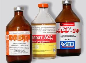 Побочные эффекты препарата АСД