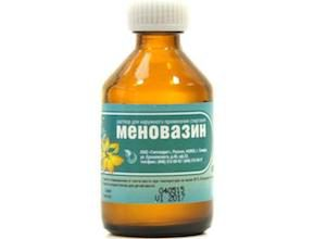 Меновазин при остехондрозе отзывы