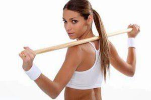 Гимнастика для спины с палкой
