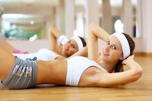 Укрепление мышц живота и косых мышц