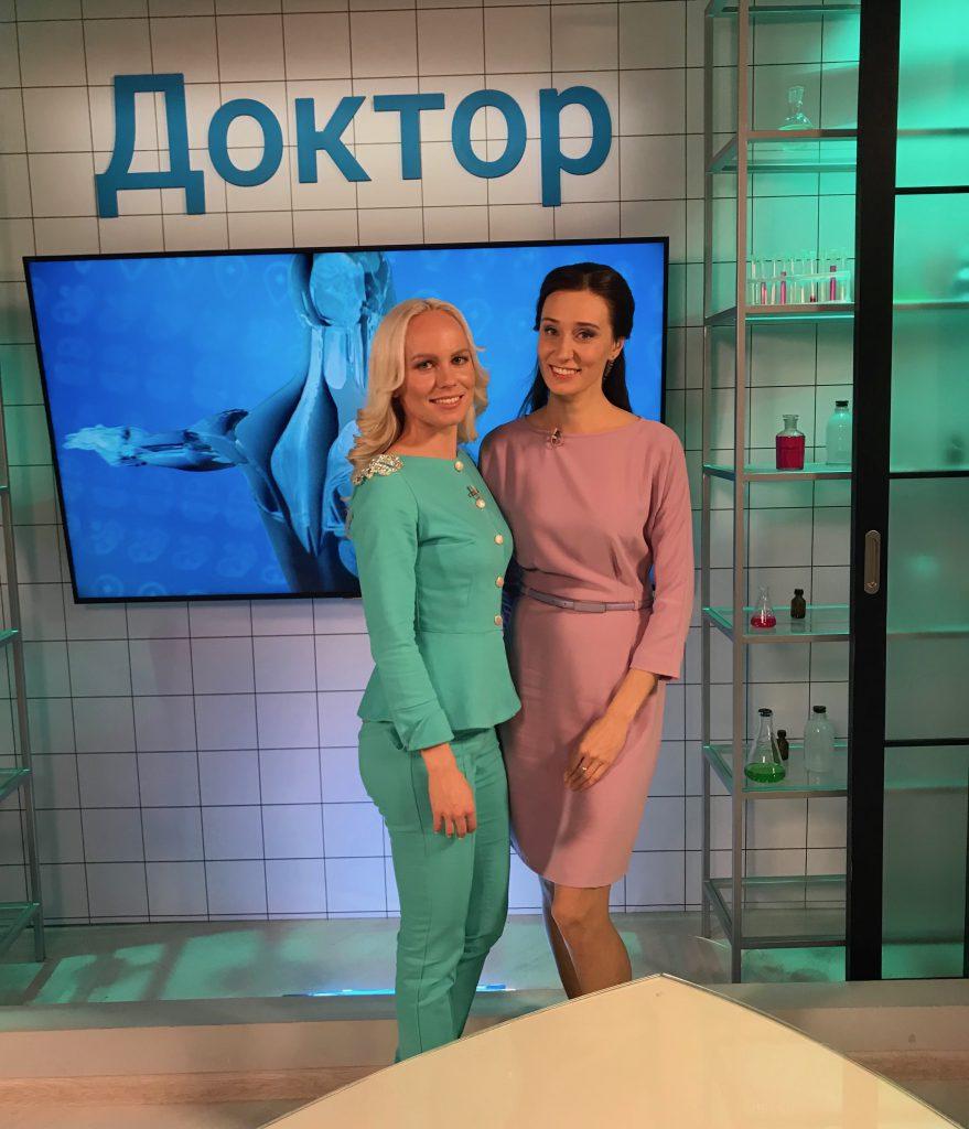 Фото с телеведущей Ольгой