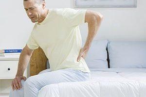 Скованность и боль в спине
